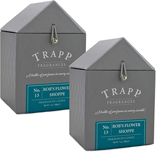 13 Bobs Flower Shoppe 2 Ounce Votive 2 Pack Trapp Signature Home Collection No
