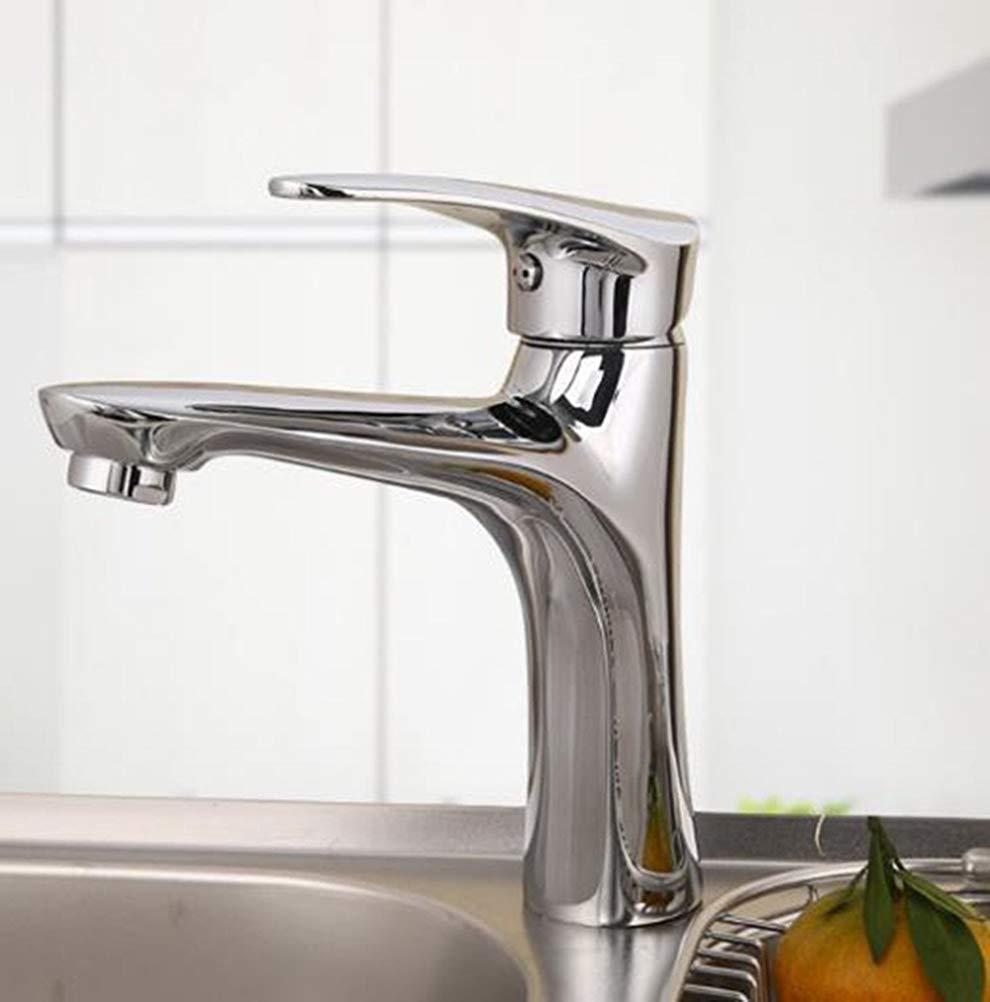Oudan Basin Mixer Tap Bathroom Sink Faucet Hot and cold single hole basin mixer bathroom console sink single hole Faucet