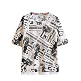 Men's Letter Striped Splicing Pattern Casual Fashion Lapel Short Sleeve Shirt Tronet Mens Summer t Shirts Short Sleeve
