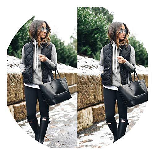 Explorer Nightgown - Women Warmer Vest Sleeveless Jacket Coat Jacket Winter Vest,Negro,L