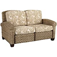 Home Styles Cabana Banana II Love Seat, Honey Finish