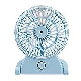 Awakingdemi USB Charging Handheld Mini Office Desktop Humidifier Cooling Misting Fan