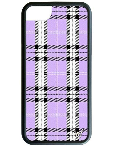 sneakers for cheap f04ad 32a65 Wildflower Limited Edition iPhone Case for iPhone 6, 7, or 8 (Lavender  Plaid)
