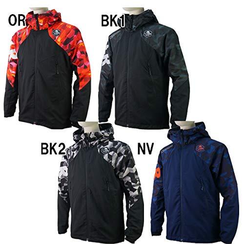 黒くする削減ヒゲ◎Kappa(カッパ) ウィンドジャケット KF852WT22-BK1