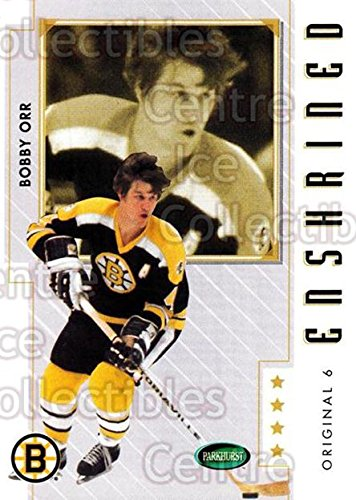 (CI) Bobby Orr Hockey Card 2003-04 Parkhurst Original Six Boston Bruins (base) 81 Bobby Orr