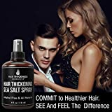 Sea Salt Spray For Hair Thickening. For Men and