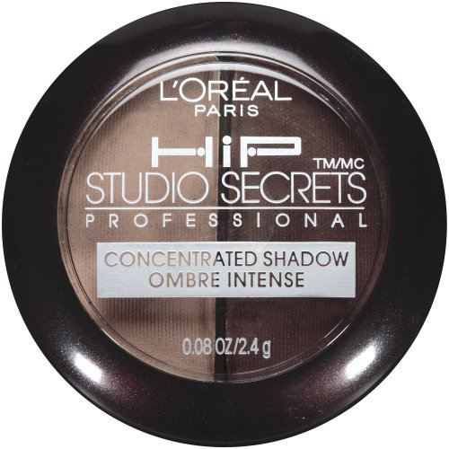 L'Oreal Paris HiP high intensity pigments Concentrated Eye Shadow Duos, Shady, 0.08 Ounces