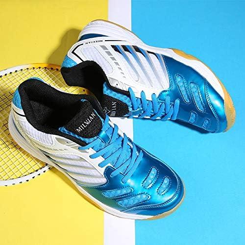Baskets pour Couple Unisexe entra/înement de Badminton Chaussures de Couple Doubjoy Chaussures de Badminton pour Femmes Espadrilles de Course pour Hommes
