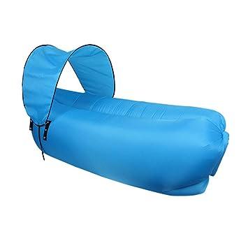 TZTED Sofa Hinchable Tumbona Inflable Cama Portátil ...