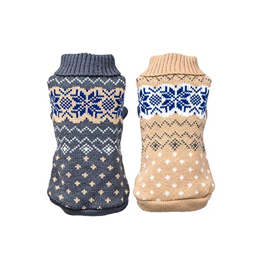 Sweater Dog Sweater Dog Puppy Turtleneck Cloth for Winter Autumn Pet Hoodies High Collar Costume Pet Sweater -
