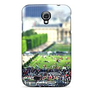 Forever Collectibles Eiffel Tourists Hard Snap-on Galaxy S4 Case
