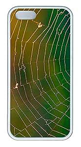 iPhone 5s Case, iPhone 5s Cases - Autumn Spider Web Custom Design iPhone 5s Case Cover - Polycarbonate