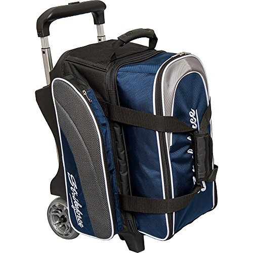 KR Strikeforce Apex Double Roller Bowling Bag Navy by KR
