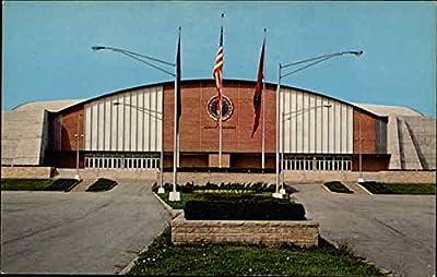Alumni Coliseum, Eastern Kentucky University Richmond Original Vintage Postcard