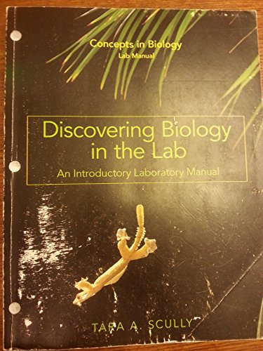 principles of biology lab manual