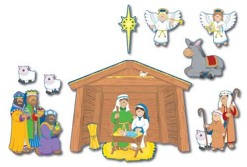 Carson Dellosa Christian Nativity Bulletin Board Set (1750)