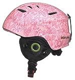 Lucky Bums Toddler Kids Alpine Doodlebug Ski Snowboard Sport Helmet, Bubblegum, M/L