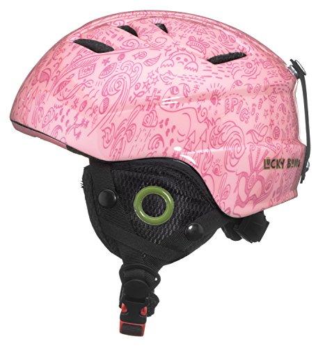 - Lucky Bums Toddler Kids Alpine Doodlebug Ski Snowboard Sport Helmet, Bubblegum, XS/S