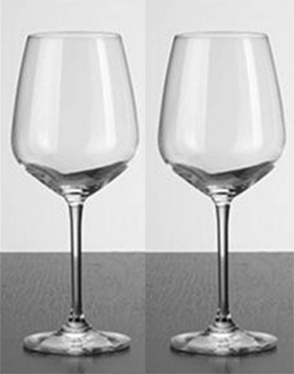 Kefbhefe Crystal Glass Red Wine Glass, Household Lead-Free Goblet, Bar Handmade Red Wine Cup, High Temperature Resistant 80 ° C, 2, 4, 6,Package1:2Cups