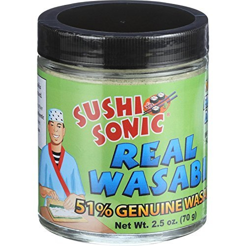 Sushi Sonic 45 Percent Hot Genuine Wasabi, 2.5 Ounce - 6 per case
