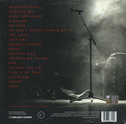 Blurryface Live 3lp Picture Disc Vinyl Limited Edition