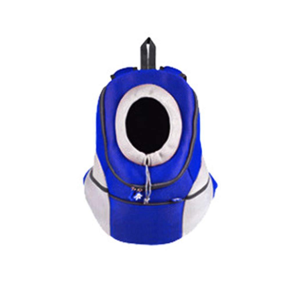 bluee Pet Carrier Dog Backpack Going Out Shoulder Bag pet Portable