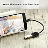 Micro USB to OTG Works with Alcatel 3 (2019) Direct