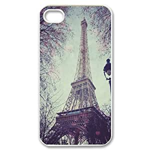 Paris Tower Print ZLB530641 Personalized Case for Iphone 4,4S, Iphone 4,4S Case
