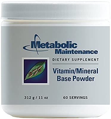 Metabolic Maintenance - Vitamin/Mineral Base Powder - Multivitamin with Improved Absorption, 60 svg
