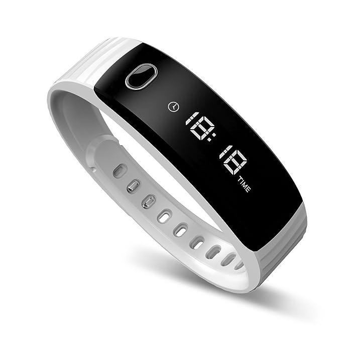 2 opinioni per Tecomax- Bracciale per fitness, con contapassi, monitoraggio attività, calorie