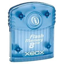 XBox Flash Memory Card - Translucent Blue