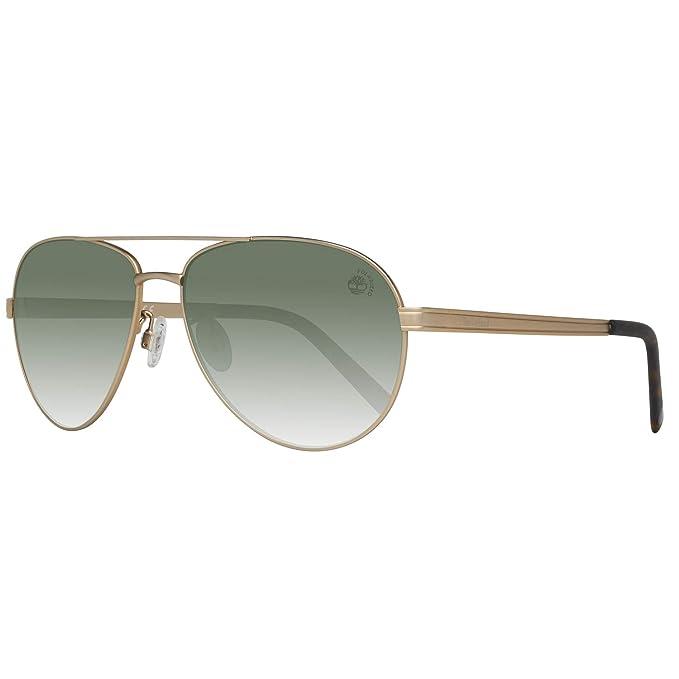 Gafas de sol polarizadas Timberland TB9098 C60 02R (matte black / green polarized)