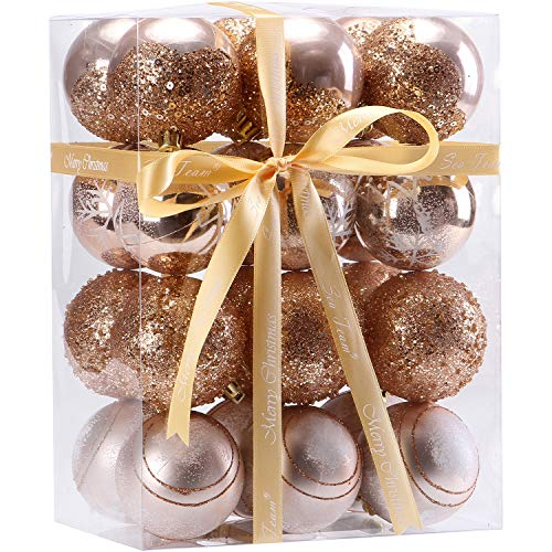 sea team 60mm236 delicate painting glittering shatterproof christmas balls decorative hanging christmas