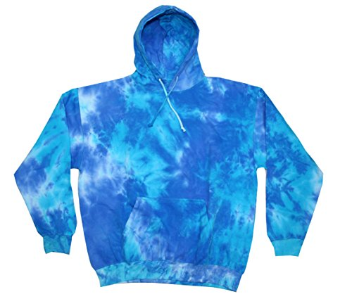Colortone Tie Dye Hoodie 3X Blue Mix, used for sale  Delivered anywhere in USA