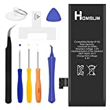 HOMSUM Battery for iPhone 5, with Repair Replacement Kits & Instructions - Full 1440 mAh New 0 Cycle [365 Days Warranty]