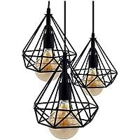 Lámpara de techo Vintage 3L Cage Mejor Precio