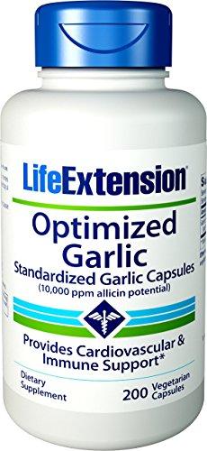 Life Extension Optimized Garlic 200 Vegetarian Capsules