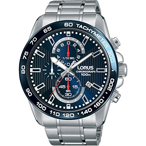 Lorus Gents Chronograph Stainless Steel Bracelet Watch