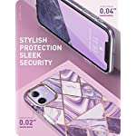 i-Blason Cosmo Lite Series Polycarbonate Hybrid Slim Protective Bumper Case with Camera Protection for iPhone 11 2019…