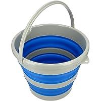 Flexus FC610 Collapsible Bucket, 15 L Blue/White