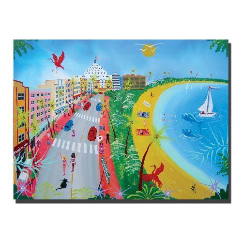 trademark-fine-art-ocean-drive-ii-by-herbert-hofer-canvas-wall-art-24x32-inch
