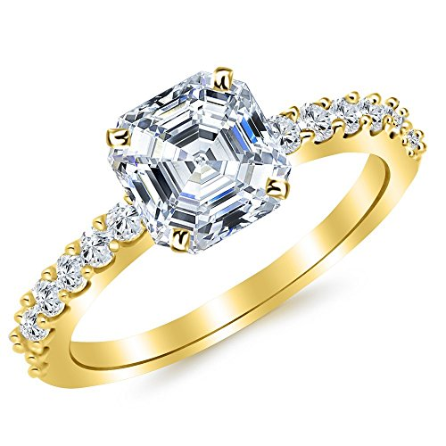 0.52 Ct Asscher Diamond - 8