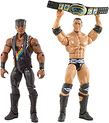 WWE Elite Collector The Nation of Domination: The Rock & Faarooq 2-Pack from Mattel