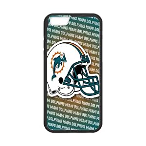 iphone6 4.7 inch Phone Case Black Miami Dolphins JHL284209