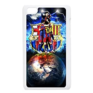 Barcelona For Ipod Touch 4 Cases Cover Cell Phone Case STR649118