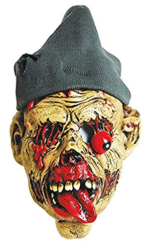 Scary Homeless Costumes - Zombie Masks Adult Horror Latex Halloween