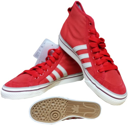 Adidas Nizza Hi Hi Sneaker Schuhe Rot 36 2/3