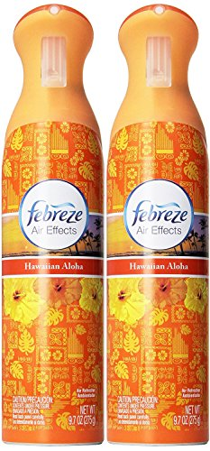 Febreze 9.7 Oz, Hawaiian Aloha, Air Refresher - Pack of 2