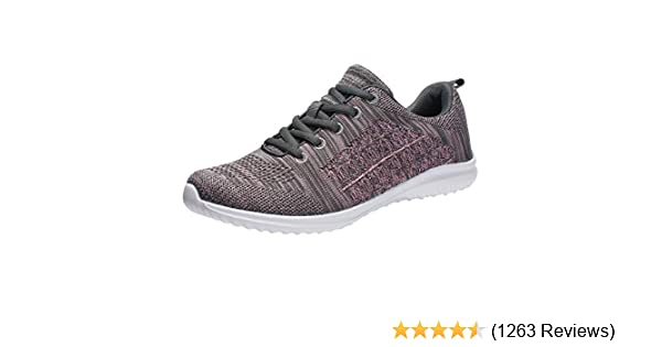 61244970c75 YILAN Women's Fashion Sneakers Breathable Sport Shoe