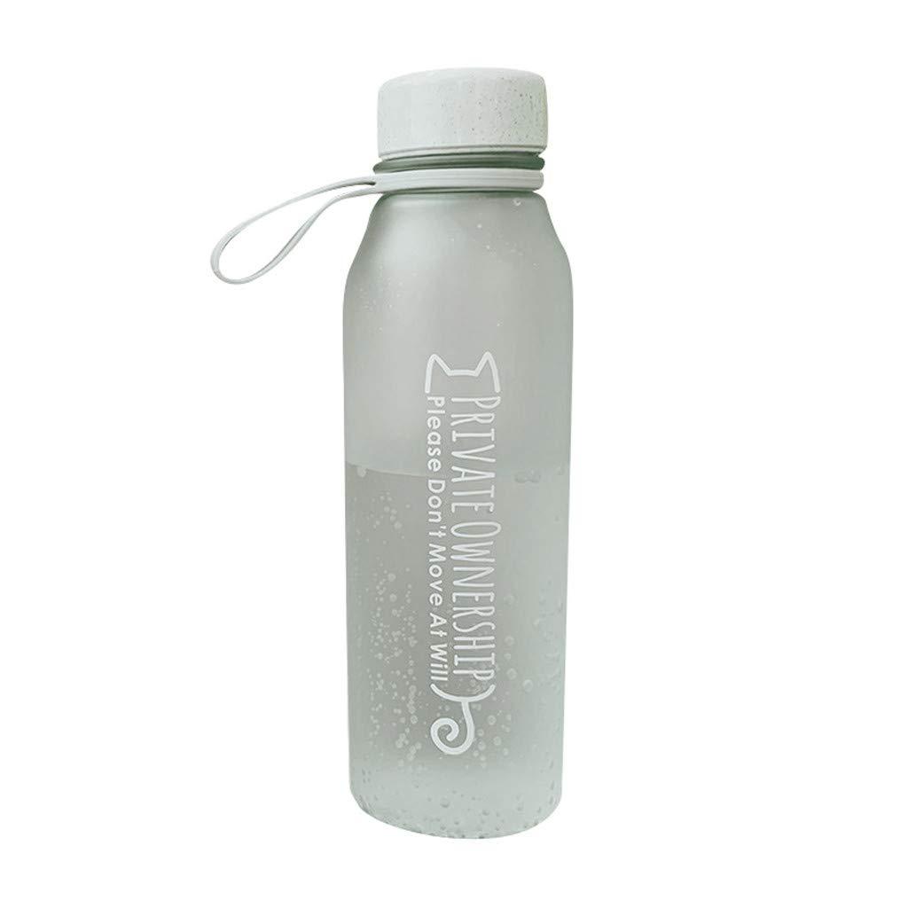 Dergo - Botella de Agua de plástico para Deporte, a Prueba de ...